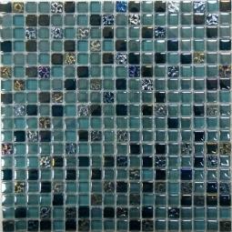 Мозаика Bonаparte Sea Drops серая глянцевая 30x30