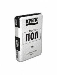 Ровнитель для пола Крепс Простопол 25 кг