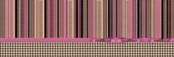 Декор Undefasa Colorgloss Decorado Chic Rosa розовый 25х75