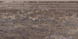 Ступени Kerranova Terra полированный темно-серый 29.4x60