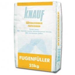Шпатлевка Knauf Фугенфюллер гипсовая 25 кг