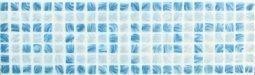 Бордюр Сокол Римская мозаика 456 орнамент глянцевый 10х33
