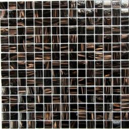 Мозаика Bonаparte Arabika коричневая глянцевая 32.7х32.7