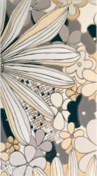 Панно Lasselsberger Камила цветы бежевое (комплект 4 шт) 19,8х39,8