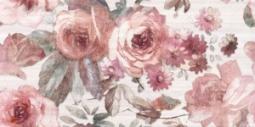 Декор Нефрит-керамика Флориал 07-00-5-10-10-41-336 50x25 Розовый