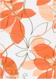 Декор Береза-керамика Ретро оранжевый 25х35
