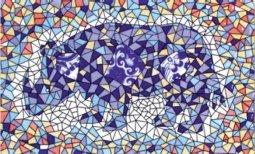 Декор Сокол Гауди D-697а орнамент глянцевый 33х20