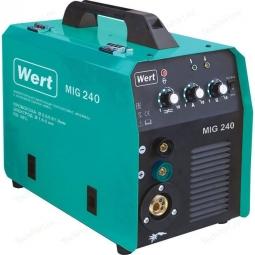 Инверторный сварочный полуавтомат WERT MIG 240 220В