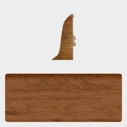 Заглушка торцевая правая (блистер 4 шт.) Т-пласт 042 Розовое Дерево