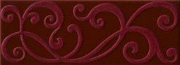 Декор Imola Mozart Zaide BY1 Бордовый 12х33