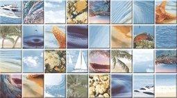 Декор Ceradim Flora Dec Mozaic Sea 25x45