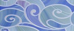 Декор Cracia Ceramica Arabeski Blue Decor 01 25x60