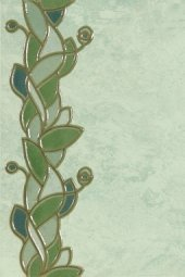 Декор Шаxтинская Плитка Флорентино Зеленый 02 20x30