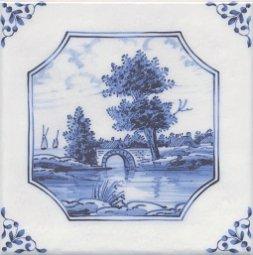 Декор Kerama Marazzi Английский Делфт Мост 5224\3F 20х20