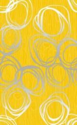 Декор Нефрит-керамика Вальс 04-01-1-09-03-33-106-0 40x25 Жёлтый