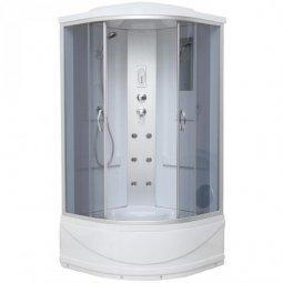 Душевая кабина Erlit Comfort ER2509TP-C4 900х900х2150 мм тонированное стекло