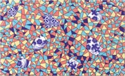 Декор Сокол Гауди D-692а орнамент глянцевый 33х20