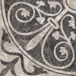 Плитка для пола Керамин Эллада 3П тип 1 Коричневый 40x40