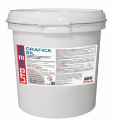 Штукатурка Litokol Litotherm Grafica Sil Шуба декоративная силиконовая 1,5 мм Белая
