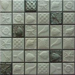 Мозаика Elada Ceramic SH-F48004 серый морской 30x30