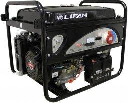 Генератор бензиновый Lifan 6GF2-3 220В/380В ручной запуск