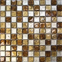 Мозаика Elada Crystal JSM-JB026 шоколадная жатая 30x30