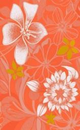 Декор Нефрит-керамика Ультра 04-01-1-09-03-25-090-0 40x25 Оранжевый