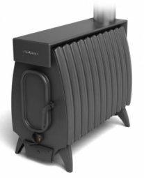 Печь отопительная Термофор Огонь-батарея 11Б Лайт антрацит дровяная