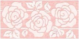 Декор Нефрит-керамика Суздаль 04-01-1-08-03-41-085-0 40x20 Розовый