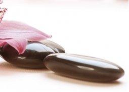 Панно Береза-керамика Рондо камешки 4 черный 25х35