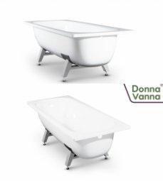 Ванна ВИЗ Donna Vanna стальная c опорной подставкой 150x70x40