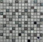 Мозаика Bonаparte Milan-2 серая матовая 30.5х30.5