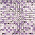 Мозаика Bonаparte Fashion фиолетовая глянцевая 30x30