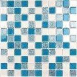 Мозаика Bonаparte Shine Blue голубая глянцевая 30x30