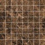 Мозаика Kerranova Eterna полированный коричневый 30x30