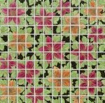 Декор Kerama Marazzi Танец цветов DT26 29.8х29.8
