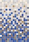 Плитка для стен Керамин Гламур 2С микс Синий 40x27,5